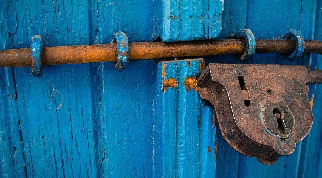 Tür verschlossen, Schlüssel weg!