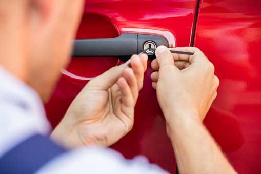 Autoöffnung lockpicking